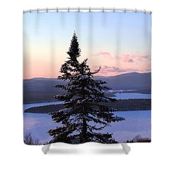 Reaching Higher Shower Curtain