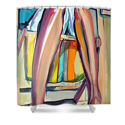 Read On Shower Curtain by Ecinja Art Works
