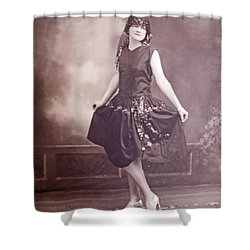 Ready For The Dance Shower Curtain by Barbara McDevitt