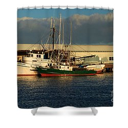 Ready For The Day Shower Curtain by Adam Jewell