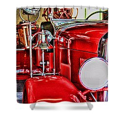 Ready For The Ring By Diana Sainz Shower Curtain