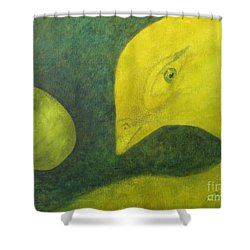 Ready To Emerge Shower Curtain