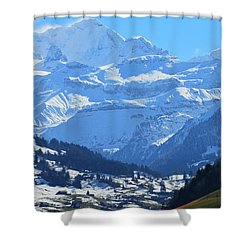 Realm Of Hope Shower Curtain by Felicia Tica