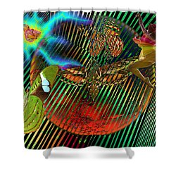 Rebirth Of Life Shower Curtain