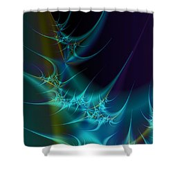 Receptors Shower Curtain