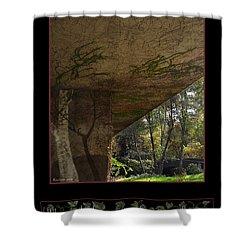 Reclaim No.8 Shower Curtain by Peter Piatt