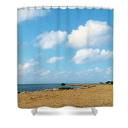 Shower Curtain featuring the photograph Reclamation 8 by Amar Sheow
