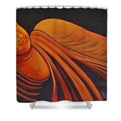 Reclining Buddha Shower Curtain