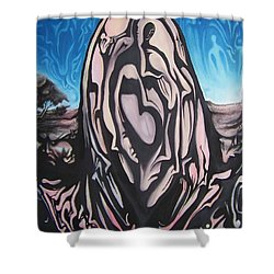Recluse Shower Curtain by Michael  TMAD Finney