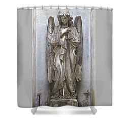Recoleta Angel Shower Curtain by Venetia Featherstone-Witty