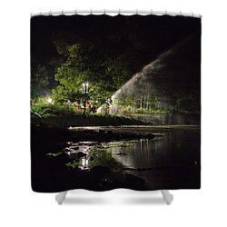 Recycling Shower Curtain by Leeon Pezok