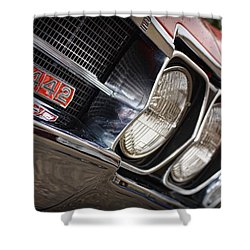 Red 1966 Olds 442  Shower Curtain by Gordon Dean II
