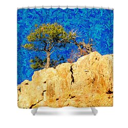 Red Canyon - Dixie National Forest Shower Curtain