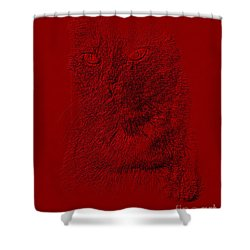 Red Cat Collection. Special... Shower Curtain