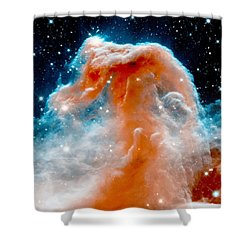Red Cloud Walker Shower Curtain