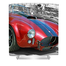 Shower Curtain featuring the photograph Red Cobra by Shoal Hollingsworth