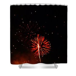 Shower Curtain featuring the photograph Red Dahlia by Amar Sheow