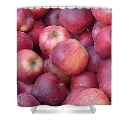 Shower Curtain featuring the photograph Red Delicious by Joseph Skompski