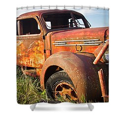 Shower Curtain featuring the photograph Red Diamond by Steven Bateson