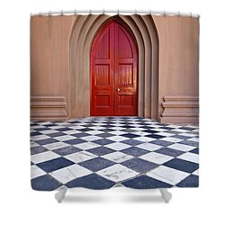 Red Door - D001859 Shower Curtain
