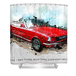 The Red Pony 2 Shower Curtain