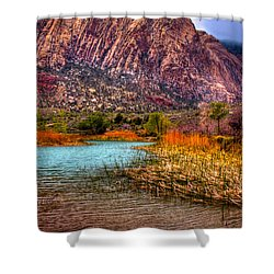 Red Rock Canyon Conservation Area Shower Curtain