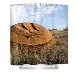 Red Rock Coulee I Shower Curtain
