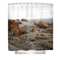 Red Rock Coulee II Shower Curtain