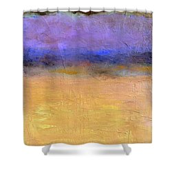 Red Sky Shower Curtain by Michelle Calkins