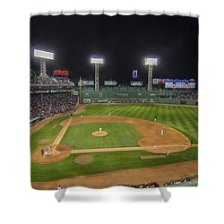 Red Sox Vs Yankees Fenway Park Shower Curtain