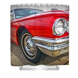 Red Thunderbird Shower Curtain