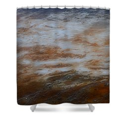 Shower Curtain featuring the photograph Red White And Blue by Nadalyn Larsen