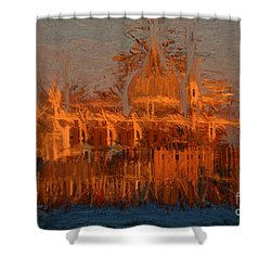 Shower Curtain featuring the photograph Redentore Venice by Jack Torcello