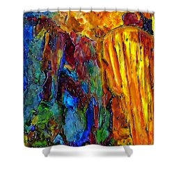 Reed Flute Cave Shower Curtain