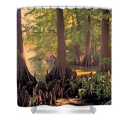 Reelfoot Lake At Sunset Shower Curtain