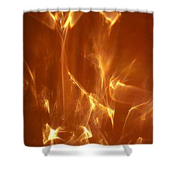 Shower Curtain featuring the photograph Reflected Angel by Leena Pekkalainen