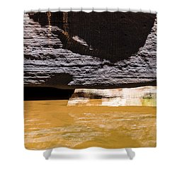Reflected Formations Shower Curtain