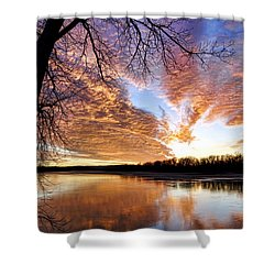 Reflected Glory Shower Curtain