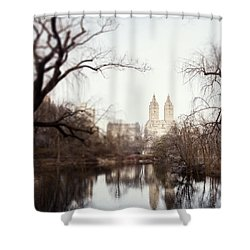 Reflected Shower Curtain by Lisa Russo