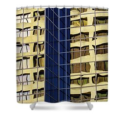 Reflecting Architecture  Shower Curtain