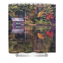 Reflection Shower Curtain by Jean-Pierre Ducondi