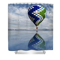 Reflection Shower Curtain by Juli Scalzi