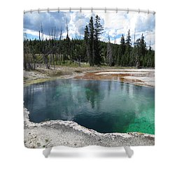 Reflection Shower Curtain by Laurel Powell
