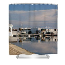 Shower Curtain featuring the photograph Reflection by Leticia Latocki
