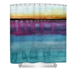 Reflection Shower Curtain by Linda Woods