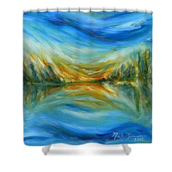 Reflection Shower Curtain by Mark Minier