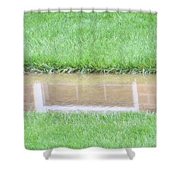 Reflection Of Life Shower Curtain by Sonali Gangane