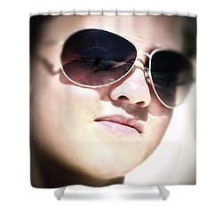 Shower Curtain featuring the photograph Reflection by Pennie  McCracken