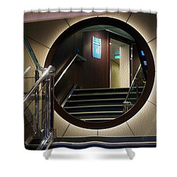 Reflection Stair Shower Curtain