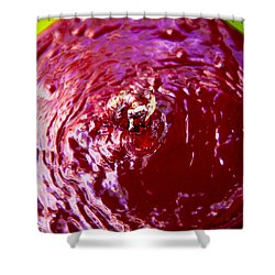Reflection Time Shower Curtain by Mez
